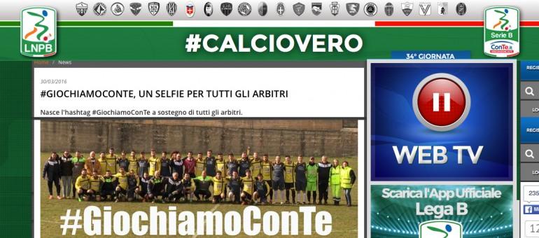 Calcio: la Lega B sposa  #GiochiamoConTe, l'iniziativa siglata da Michele Di Franco