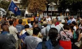 Abruzzo - Pescara, sit-in contro gli incendi