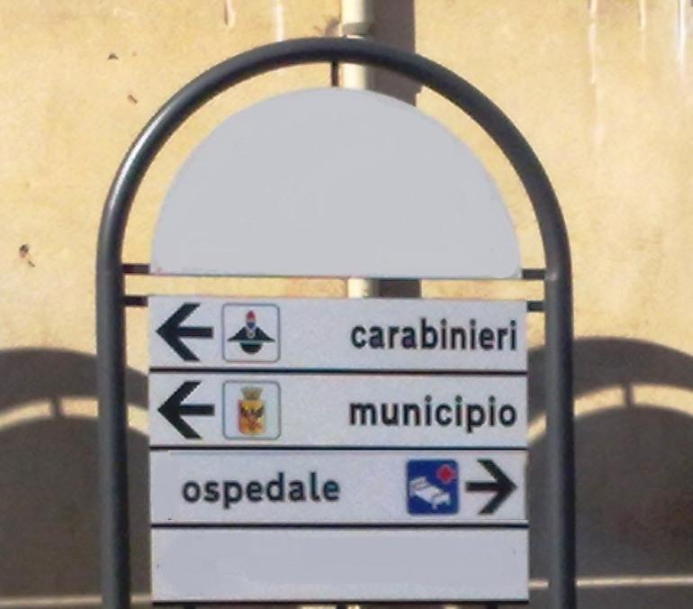 Nuova segnaletica stradale a Castel di Sangro