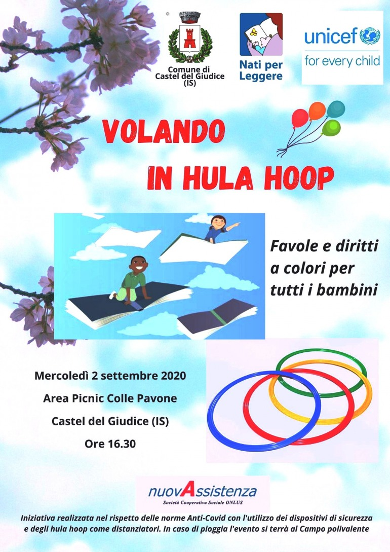 Letture per bambini all'aria aperta  a Castel del Giudice