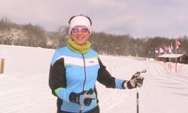La campionessa Sabina Valbusa è tornata a sciare a Capracotta: nel 1997 salì sul podio dei campionati italiani di fondo