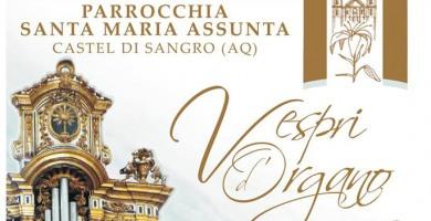 Vespri d'Organo, la seconda edizione nella Basilica di Santa Maria Assunta a Castel di Sangro