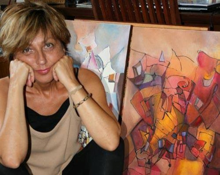 Vilma Maiocco espone a Castel di Sangro, giovedì 24 maggio il vernissage