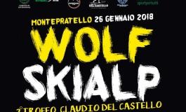 """Wolf Skialp sulla """"direttissima"""" di Monte Pratello: venerdì 26 gennaio"""
