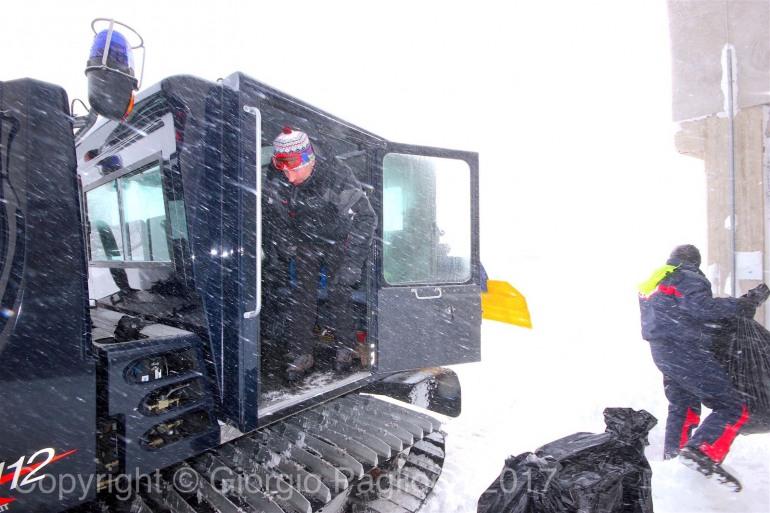 Capracotta, amministratori in prima linea sotto la neve