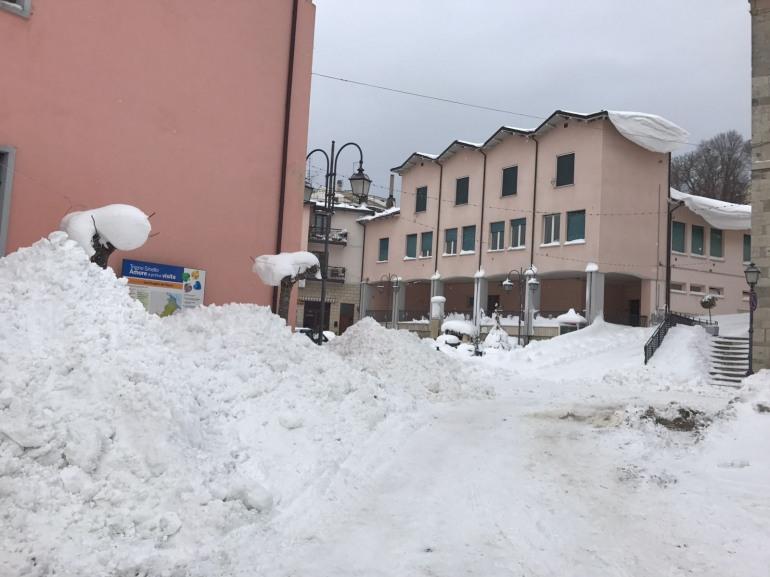 """Maltempo – Sant'Angelo del Pesco, Nucci: """"Superata brillantemente l'emergenza neve"""""""