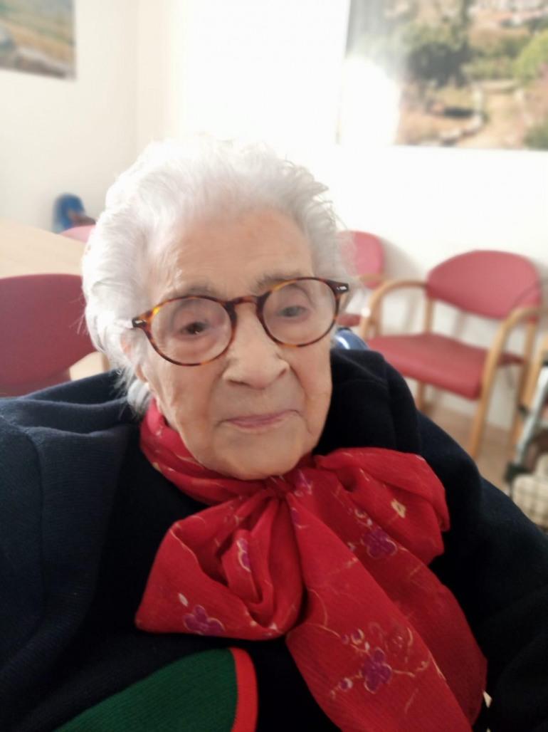 L'aria di Capracotta allunga la vita, oggi compie 106 anni Raffaella Sozio