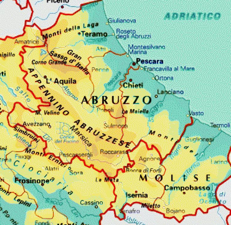 Riaggregare Abruzzo e Molise, s'infiamma la discussione in Agnone