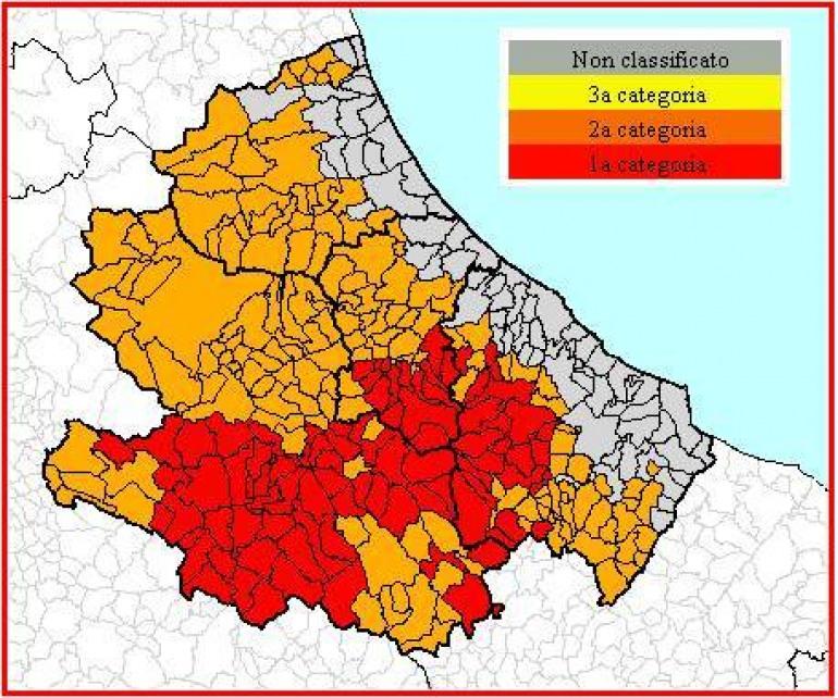 Abruzzo, prevenzione rischio sismico: individuazione dei destinatari
