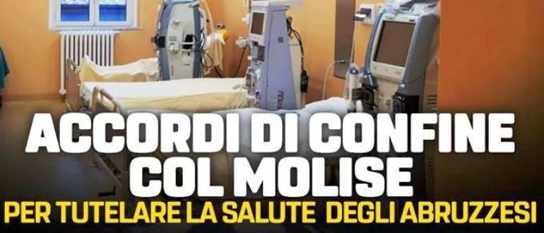 Accordo di confine tra Abruzzo e Molise per salvare il 'Caracciolo' di Agnone