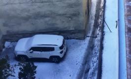 Strade ghiacciate in Alto Molise, automobilisti infuriati