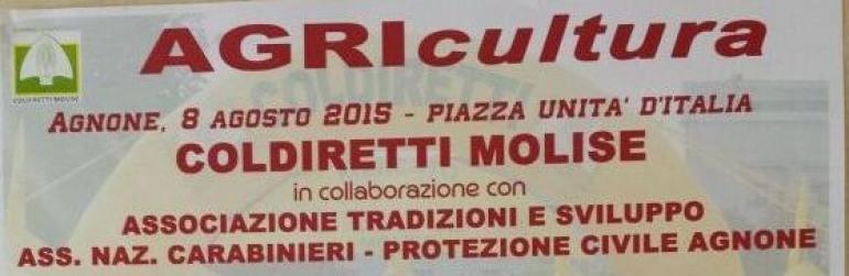 Agnone, 8 agosto: AGRIcultura, quando l'agricoltura è multitasking