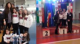 1° e 2° posto al Campionato Danze Coreografiche per gli under 9 dell'Aldica Dance di Castel di Sangro