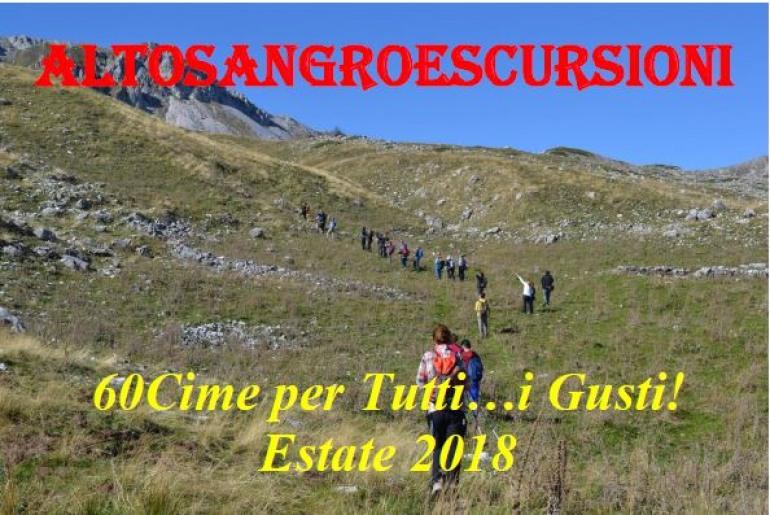 Altosangroescursioni, esce il calendario del trekking con Luigi Spada