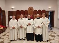 Ammissione Ordini sacri, Cristian e Francesco si offrono a Dio e alla Chiesa