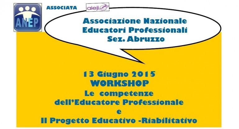Anep, workshop a Castel di Sangro: L'Educatore Professionale e il progetto educativo-riabilitativo