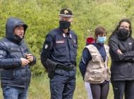 """Carabinieri e 60 alunni di Castel di Sangro piantano il """"Bosco Diffuso"""""""