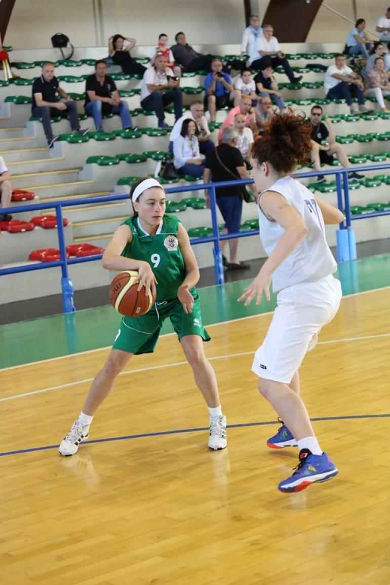 Basket, Roseto degli Abruzzi: la castellana Anna Pallotta protagonista alla finale nazionale 'under 15'