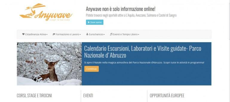 """Castel di Sangro, presentazione del progetto """"Anywawe"""""""