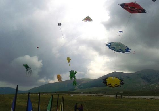 Festival degli aquiloni, Roccaraso Vola sulle ali dell'entusiasmo