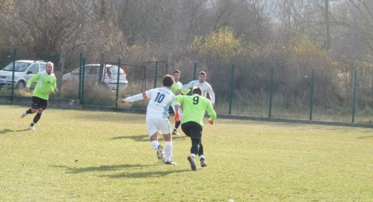 Calcio – Netta supremazia del 'Atletico Sanniti'  su Colli a Volturno: 2 -0