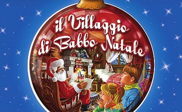Bambini in trepidazione per l'apertura del Villaggio di Babbo Natale