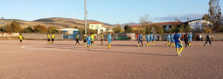 Calcio – L'Asd Barrea sbrana la Fucense: 4 -1