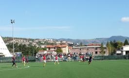 L'Asd Barrea incornicia la vittoria contro il Caruscino. Risultato finale: 5 - 0