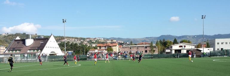 L'Asd Barrea incornicia la vittoria contro il Caruscino. Risultato finale: 5 – 0
