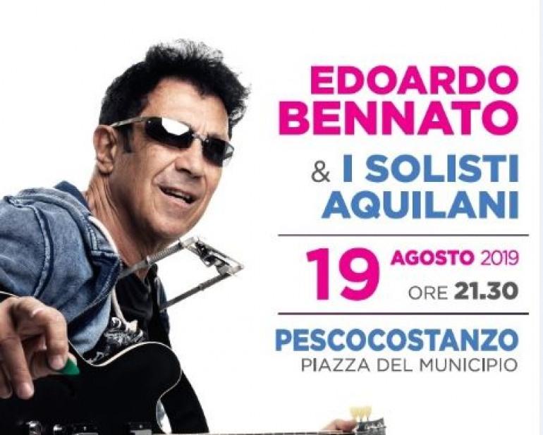 Edoardo Bennato ed i Solisti Aquilani, concerto a Pescocostanzo stasera ore 21.30