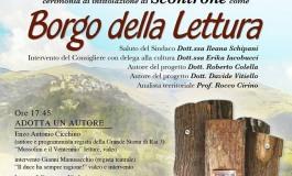"""Scontrone  7 febbraio, battesimo del """"Borgo della lettura"""""""