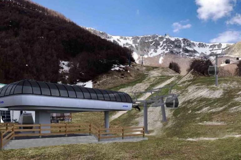 """Roccaraso, nuova cabinovia """"Pallottieri"""": sarà pronta a settembre"""