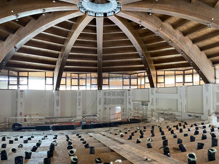 """Roccaraso, a breve l'apertura dell'auditorium. Di Donato: """"Un gioiello polivalente per cultura e formazione"""""""