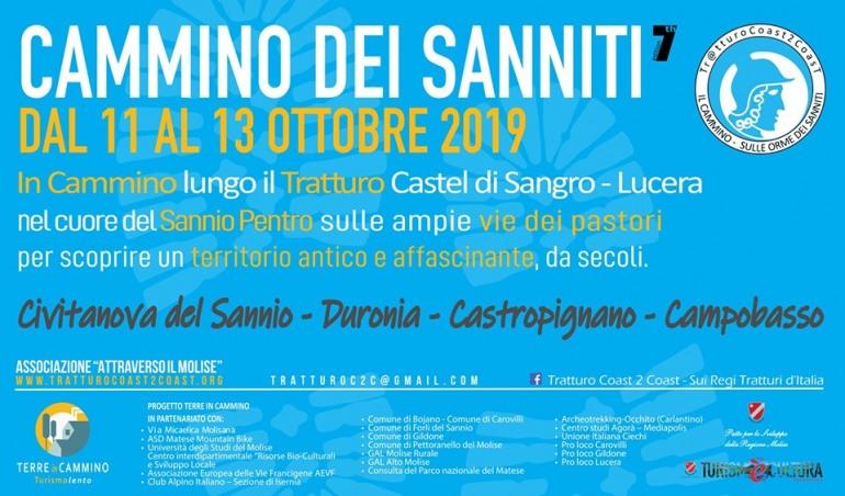 """""""Sulle orme dei Sanniti"""", tre giorni di cammino sul tratturo Castel di Sangro – Lucera"""