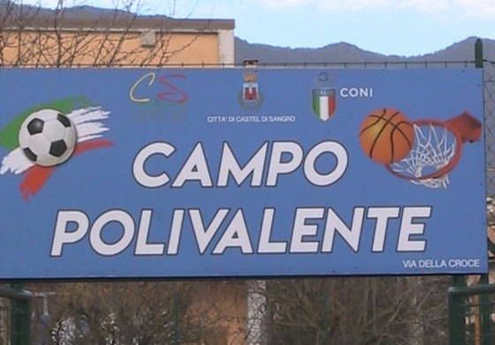 Calcio, basket e tennis gratis per tutti: inaugurati due campi polivalenti a Castel di Sangro