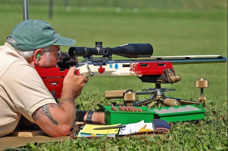 Roccaraso, allenamento di tiro con carabina a lunga distanza 1000 metri