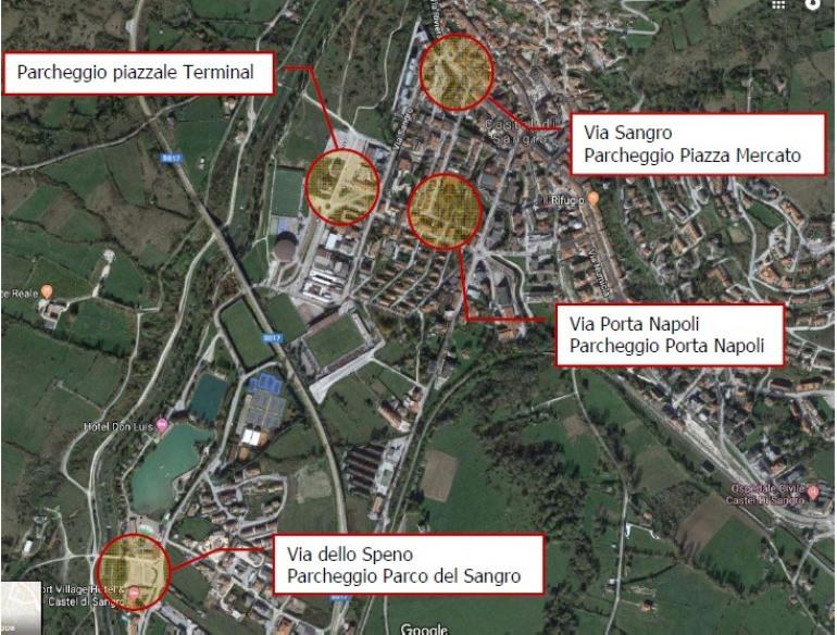 Castel di Sangro, otto colonnine per la ricarica delle automobili elettriche