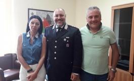Carabinieri Castel di Sangro, il comandante Fabio Castagna riceve i giornalisti dell'Alto Sangro