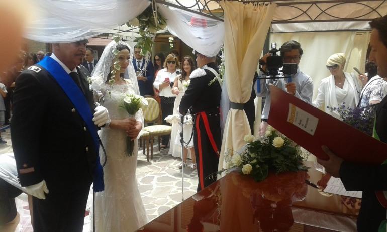 Nozze – Auguri agli sposi Domenico e Sonia