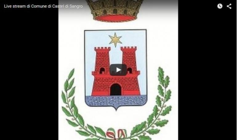 Castel di Sangro, ore 18  diretta del Consiglio Comunale