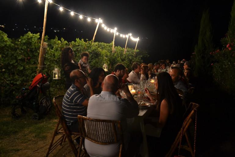"""""""A cena con il vignaiolo"""" ad agosto le serate del Movimento Turismo Vino Abruzzo"""