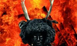 L'Uomo Cervo al raduno delle maschere antropologiche