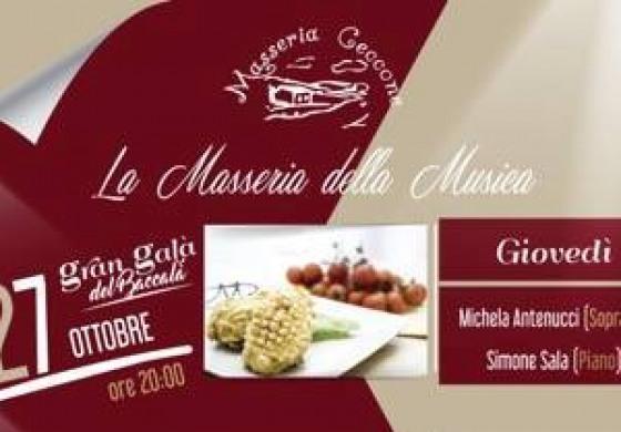 Masseria Ceccone, tornano le serate del gusto: ospiti Simone Sala e Michela Antenucci