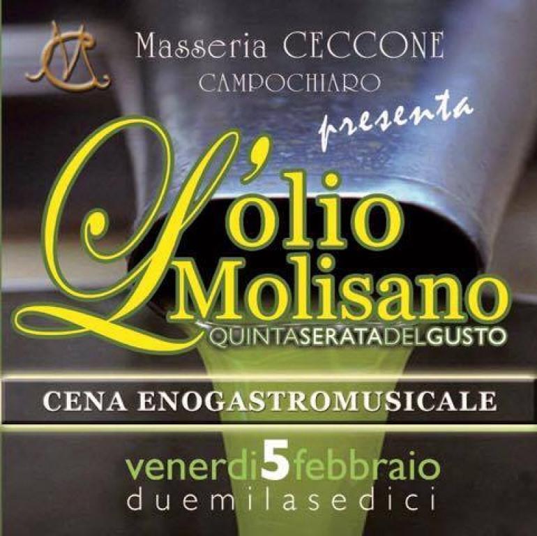 Campochiaro, serata del gusto alla Masseria Ceccone