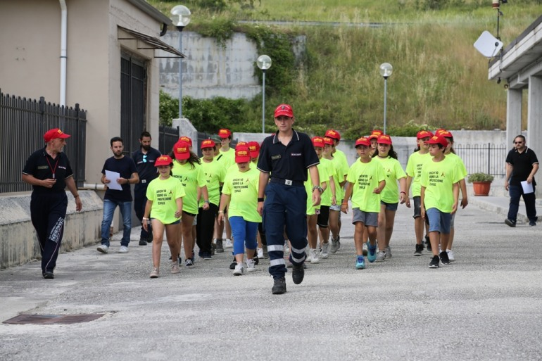 Agnone, chiude con successo il campus estivo della protezione civile