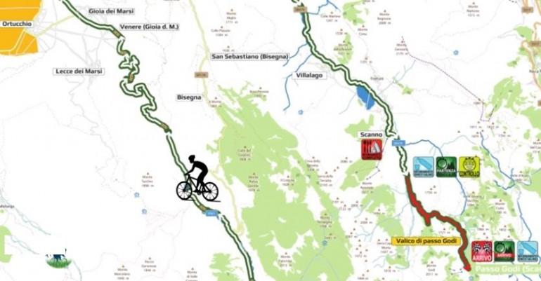 Domenica a Villetta Barrea per una pedalata sulle strade della Granfondo nel Parco Sarto