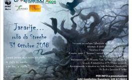 'Janarìje roba da streghe', escursione di Halloween a Sepino
