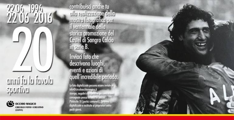 Castel di Sangro calcio in serie B: cercasi fotografie del  triennio 1996-1998