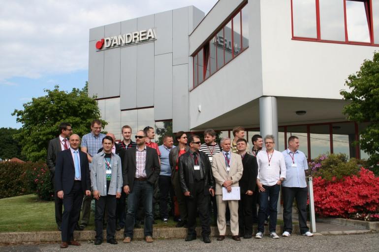 Castel del Giudice, delegazione polacca visita l'azienda D'Andrea