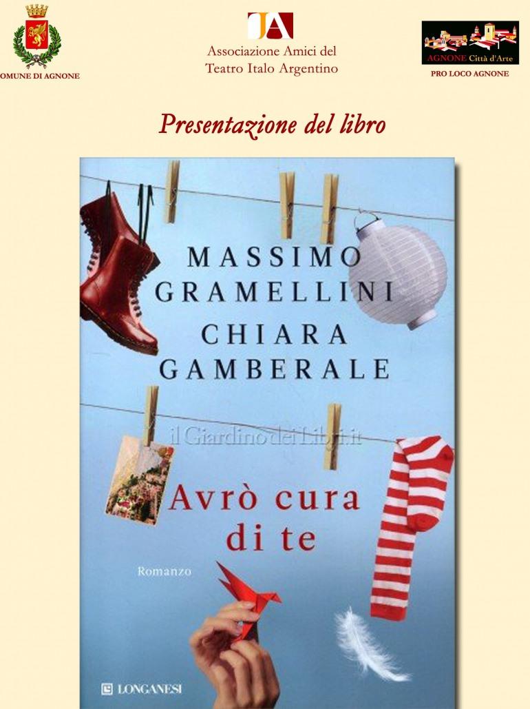 Agnone, 'Avrò cura di te' presentazione del libro di Chiara Gamberale